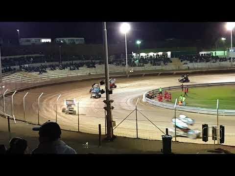 60 years 60 laps 60k A main night 2 Murray bridge speedway 2019