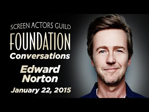 Conversations with Edward Norton