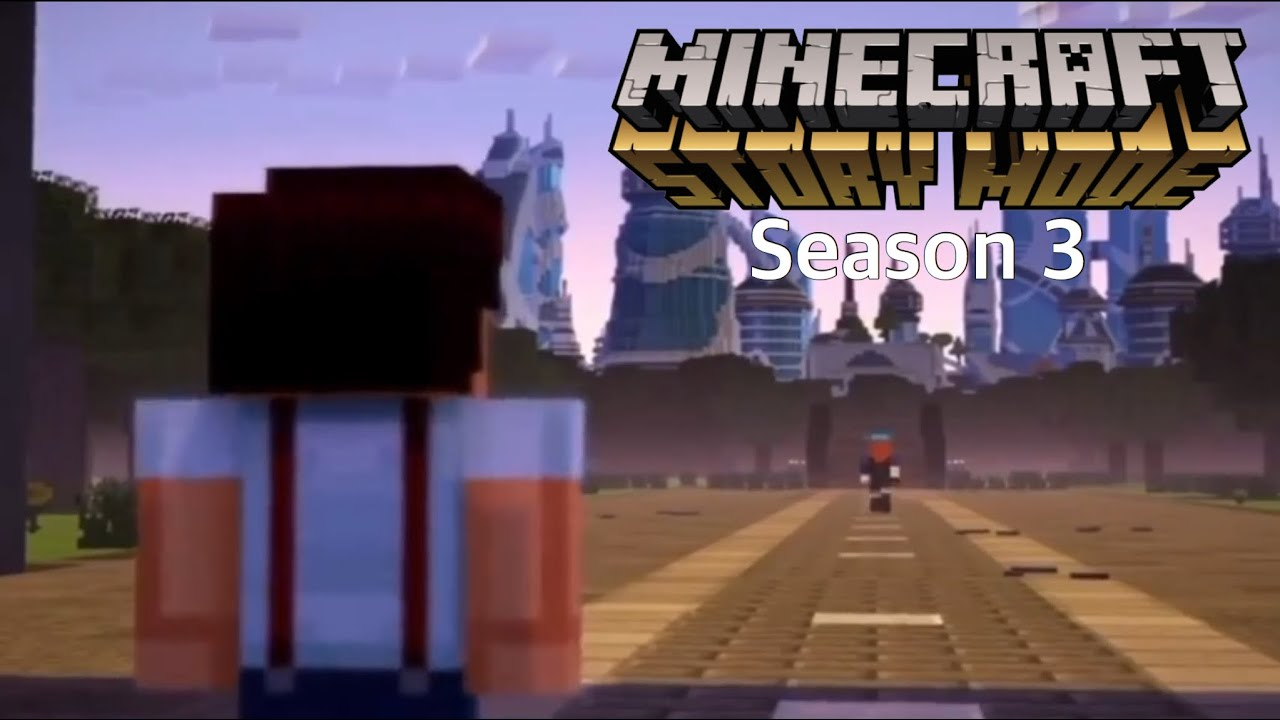The Rise Of Herobrine Minecraft Story Mode Season 3 Fan Made