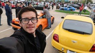 اكبر تجمع للسيارات الخارقة بامريكا واكبر قصر ليغو باجمل مول!!!