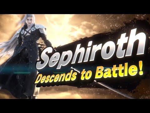 Sephiroth Reveal Trailer – Super Smash Bros Ultimate New DLC Fighter!