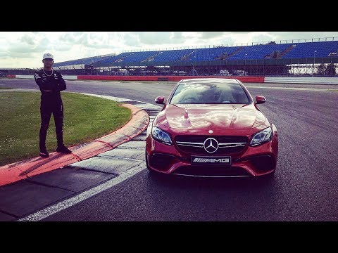 360° Silverstone Onboard AMG with Lewis Hamilton!
