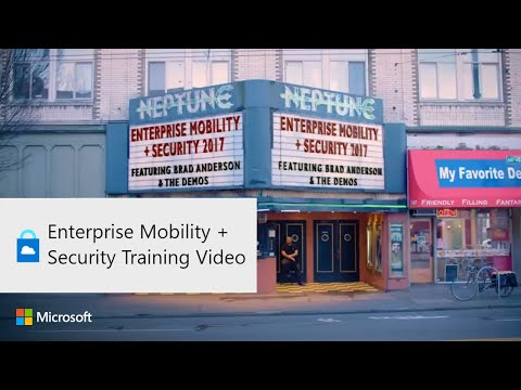 Enterprise Mobility + Security Training Video