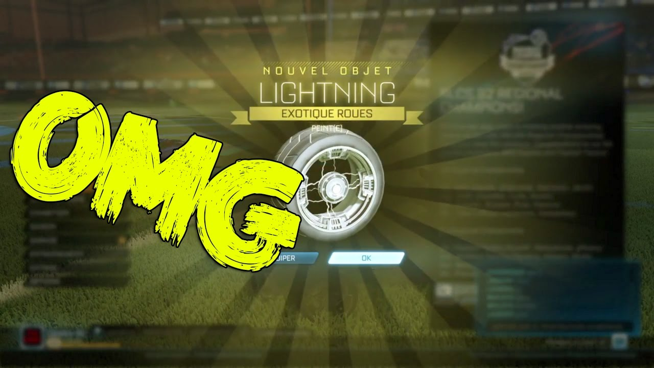 Lightning Wheels Rocket League