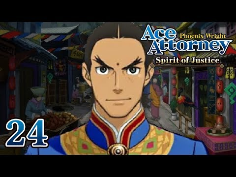 A LOVING FATHER - Let's Play - Phoenix Wright: Ace Attorney: Spirit of Justice - 24 - Playthrough
