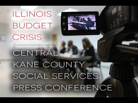 Central Kane County Social Services Press Conference *URGENT*