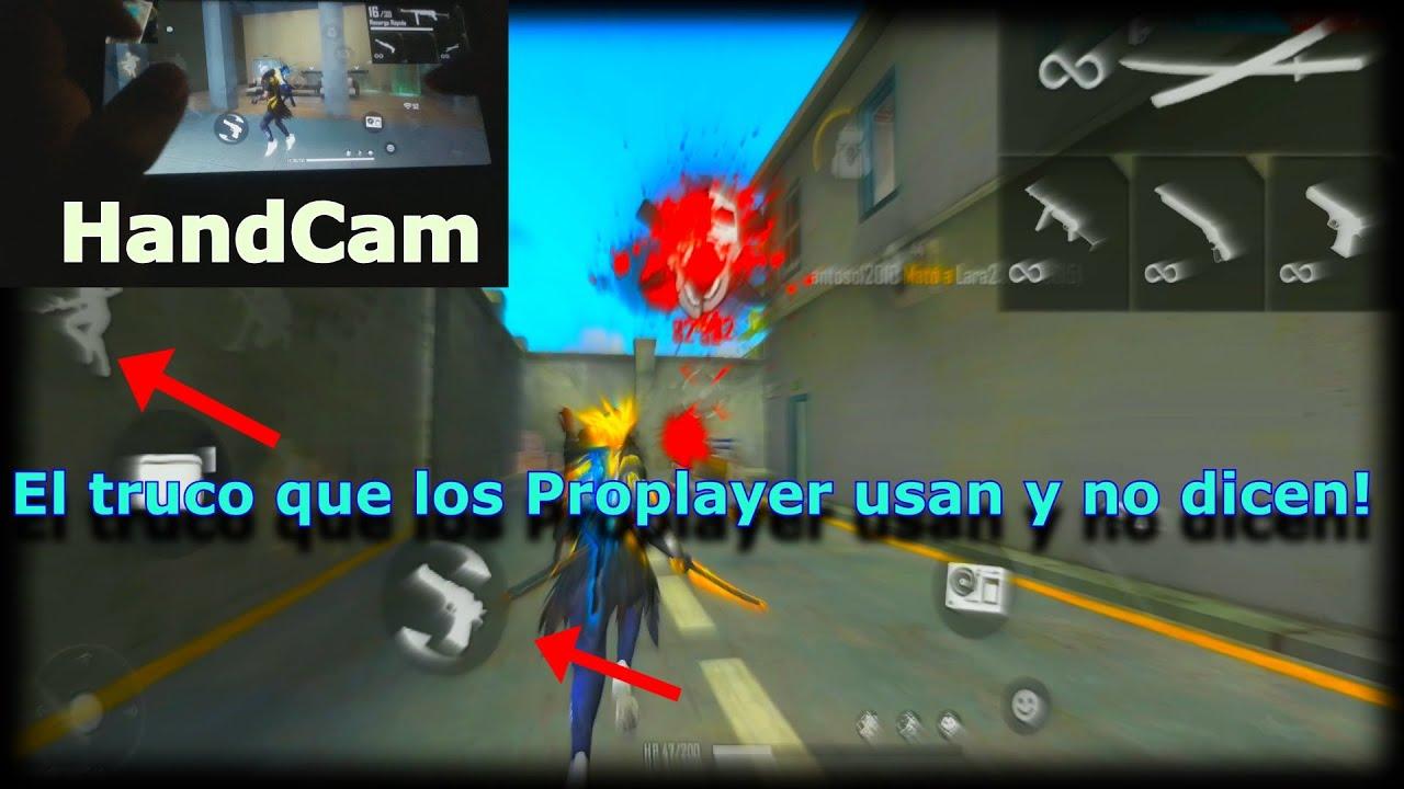 CON ESTE TRUCO VAS A MOVERTE COMO UN JUGADOR DE PC/HANDCAM 2.0/NexusKing