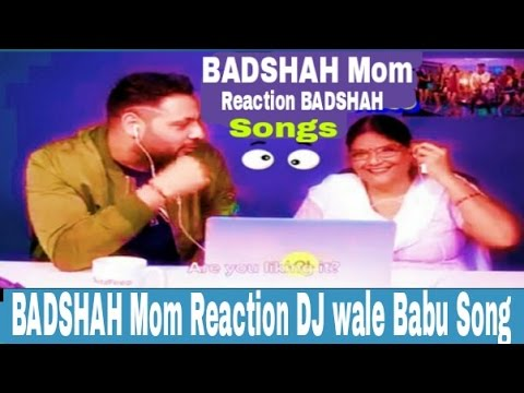 BADSHAH With Aunties - The Song Dj Wale BAbu LAdki BEautifull Badshah 2017 song