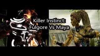 Fulgore Vs Maya (Killer Instinct)