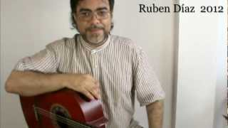 Tangos (Estribillo 6) for John McLaughlin / Flamenco Composition Lesson by Ruben Diaz CFG Malaga