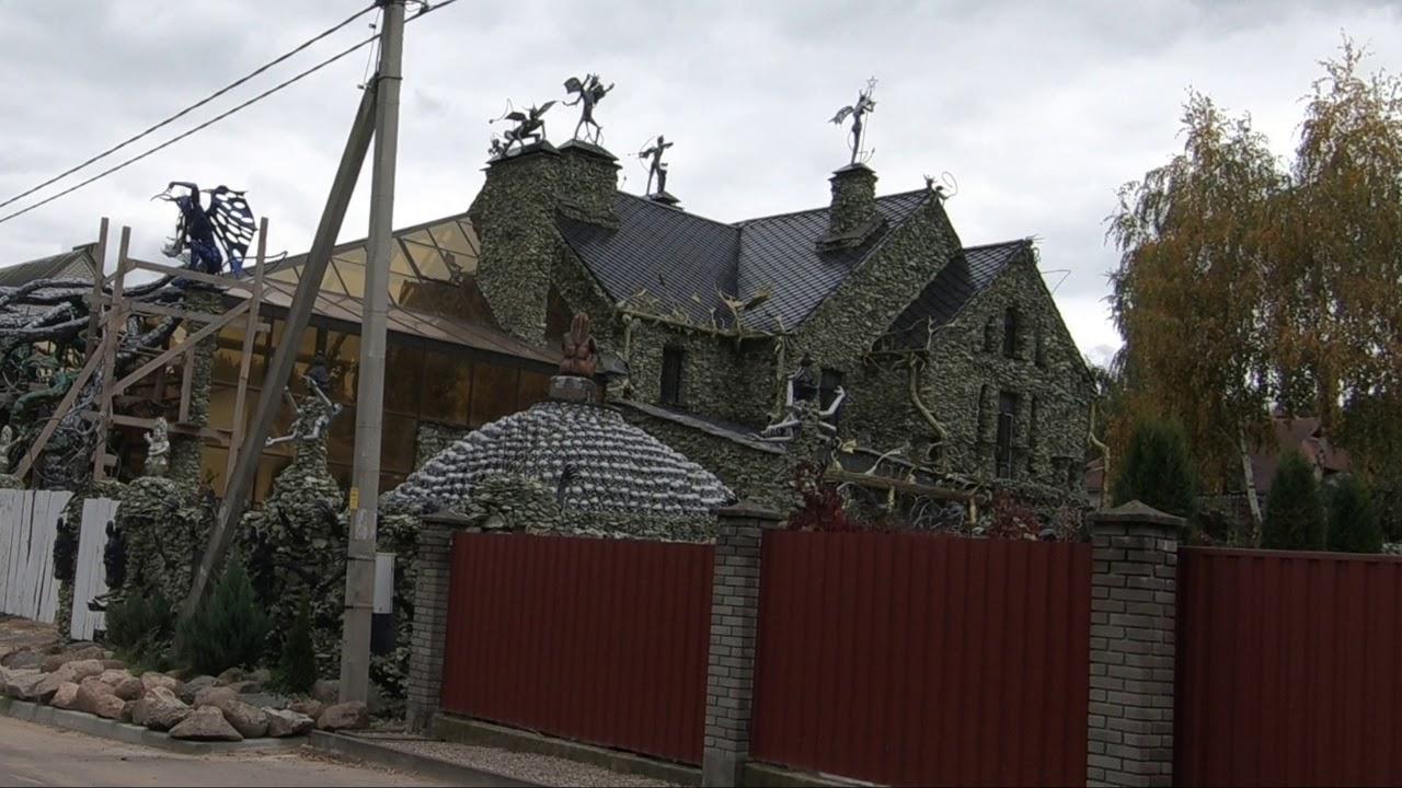 уже дом в белоруссии с черепами фото только умна