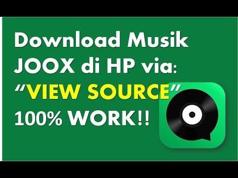 Cara Download Lagu JOOX Jadi File MP3 Di HP Android & IOS 2019. 100% WORK!!