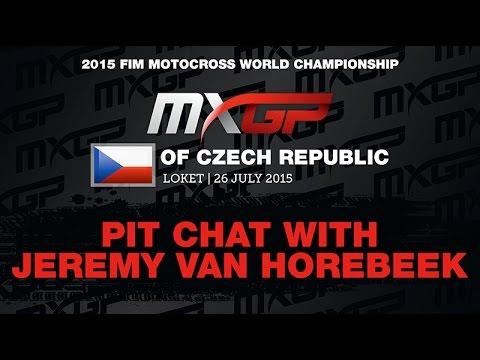 Pit Chat With Jeremy Van Horebeek MXGP Of Czech Republic