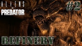 AVP - Colonial Marine Gameplay Walkthrough Part 2 [HD] No Commentary