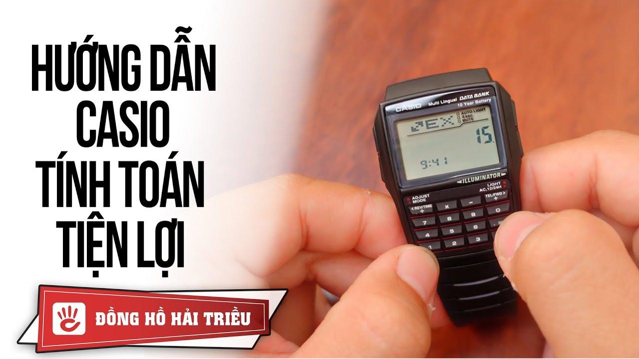 Cách sử dụng đồng hồ Casio DataBank DBC-32 | Nhập liệu, đổi tiền, tính toán