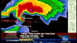TWC Coverage of Hackleburg EF5 Tornado - 4/27/11