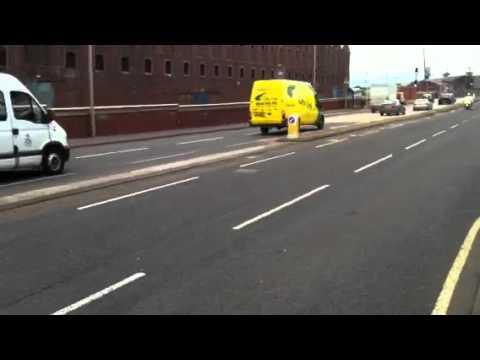 Queen arriving in Greenock 4/7/2012