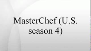 Masterchef (u.s. Season 4)
