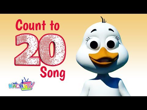Count to 20 Song   Numbers Song for Children   Kachy TV Nursery Rhymes - Kids Songs