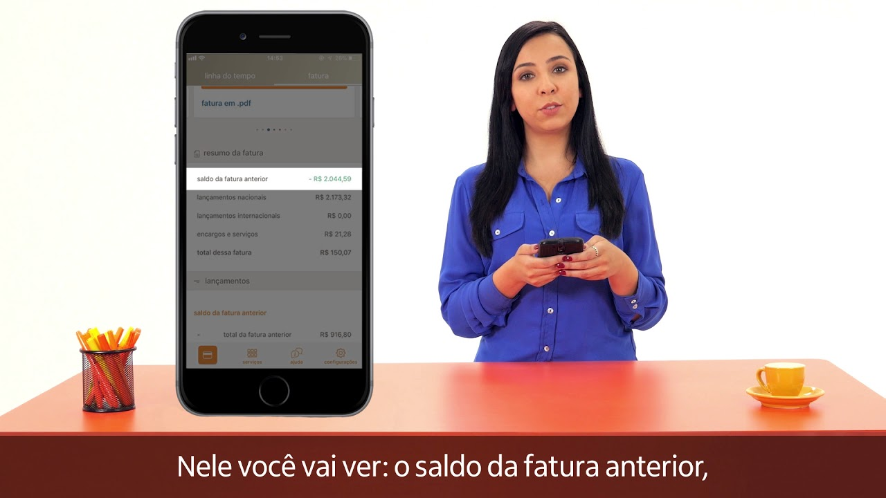 Cartao De Credito Como Consulto A Fatura Do Cartao Youtube