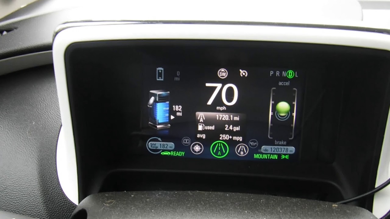 2017 Chevy Volt Ev Electric Vehicle Broken Expirment Leads To Mountain Mode Questions