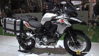 2018 Benelli TRK 502 X - Walkaround - 2017 EICMA Motorcycle Exhibition