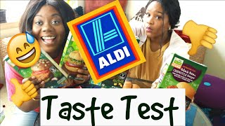 Taste Testing Vegan Burgers From Aldi