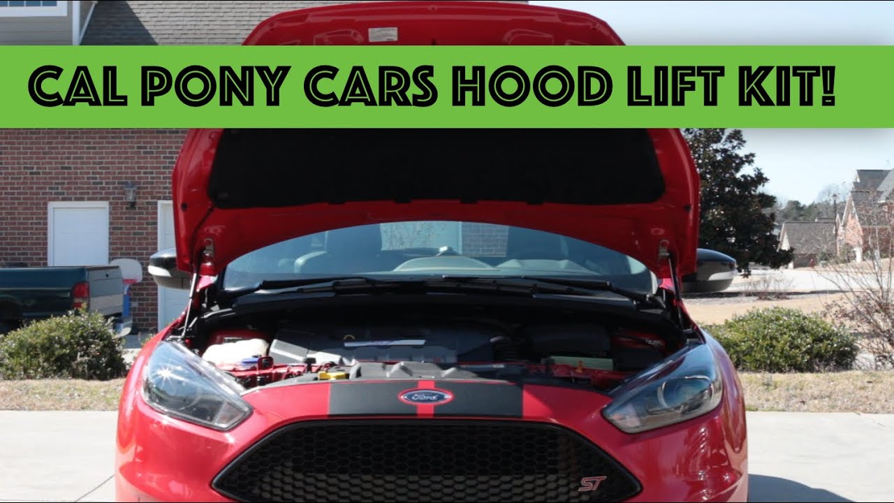 California Pony Cars Nxt Generation Focus St Hood Lift Kit Review