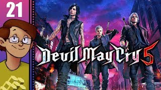 Let's Play Devil May Cry 5 Part 21 - Mission 18: Awakening