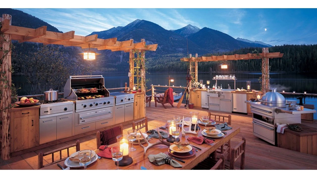 Fotos cocina al aire libre - YouTube