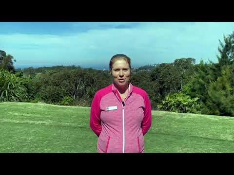 Elanora Golf Shop Welcome Message