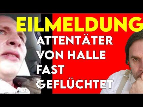 Attentäter von Halle fast geflüchtet? EILMELDUNG
