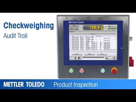 Product Feature: Audit Trail METTLER TOLEDO - EN