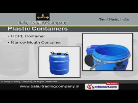 Plastic Cans, Drums And Container By Balaji Trading Company, Chennai