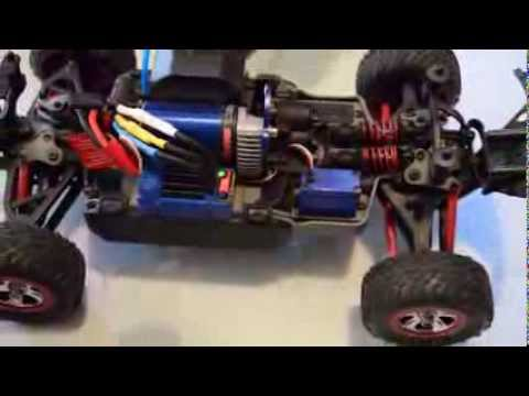 How to change the battery mode from normal to lipo on an RC (Traxxas)