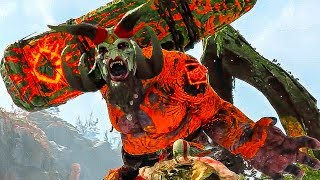 GOD OF WAR 4 NEW Gameplay Trolls & Exploration (2018) PS4