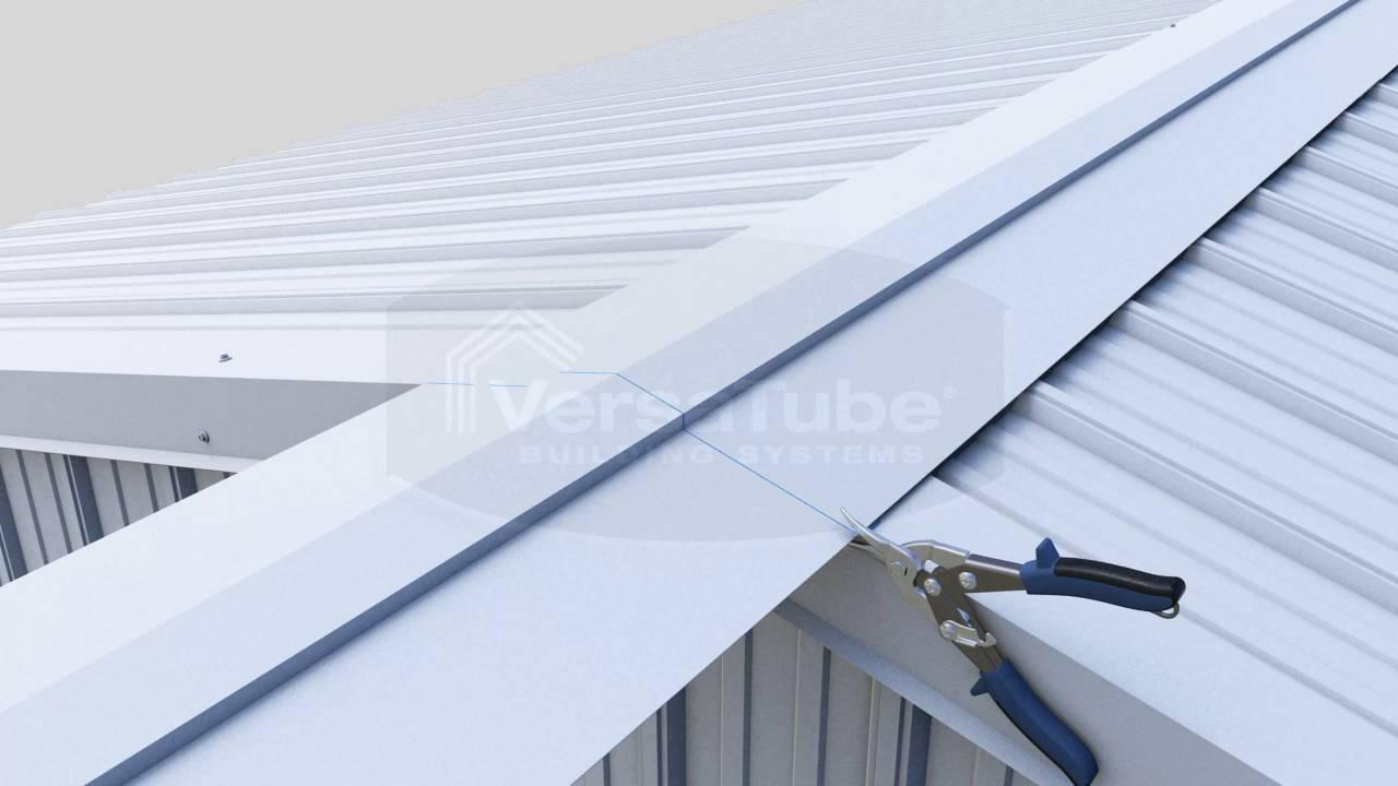 Metal Building Ridge Vents For Sale