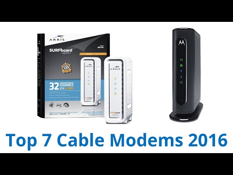 7 Best Cable Modems 2016