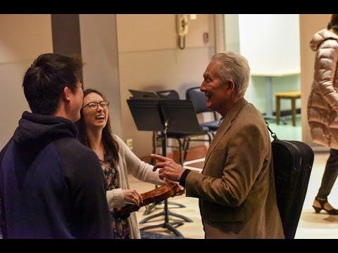 2016 Arnold Steinhardt violin masterclass | Classe de maître de violon Arnold Steinhardt 2016