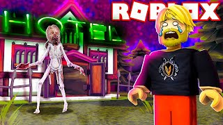 ES GIBT MONSTER IM HOTEL! 👹💀 * 2 OUT OF 3 ENDINGS *:: Roblox Hotel (Camping) Englisch