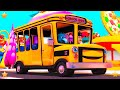 Wheels On The Bus | Kindergarten Nursery Rhymes Song For Kids | Baby Songs By Little Treehouse video