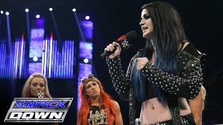 """Witness Paige's """"apology"""" to Charlotte, Becky Lynch and Natalya: SmackDown, Sept. 24, 2015"""