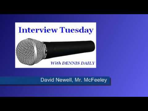 TUESDAY   DENNIS meets David Newell