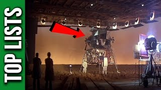 10 Reasons Why People Think The Moon Landings Were FAKE
