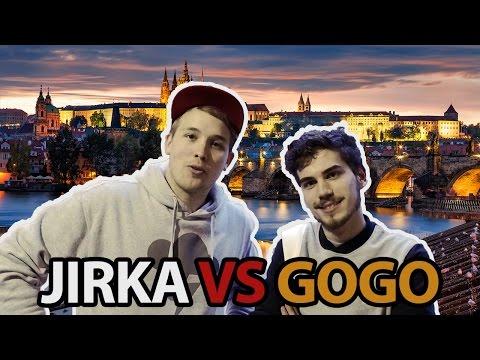 Jirka vs GoGo - Závod po Praze!