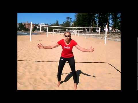 beach volleyball  passing part 4  court position  youtube