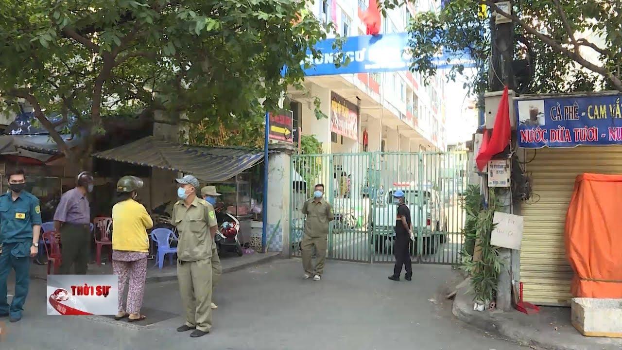 TP Hồ Chí Minh cách ly hơn 1.000 dân ở chung cư Hòa Bình