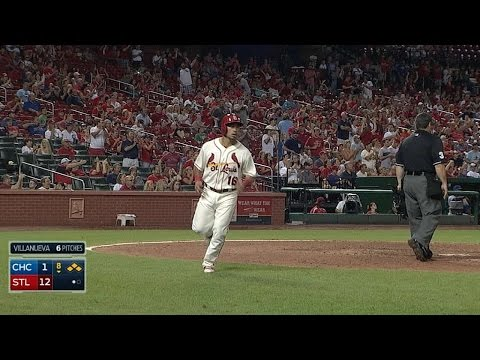 CHC@STL: Cardinals rally for a nine-run 8th inning