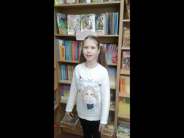 Изображение предпросмотра прочтения – ВикторияАванесова читает произведение «Черемуха» С.А.Есенина