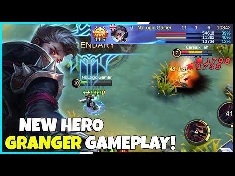 New Hero Granger Full Gameplay! 11-1-6  KDA | Mobile Legends - Gameplay | MLBB thumbnail